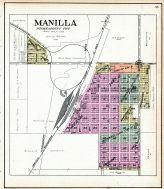 Manilla, Crawford County 1908